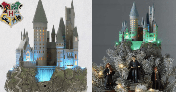 You Can Get A Harry Potter Hogwarts Tree Topper, ACCIO IT