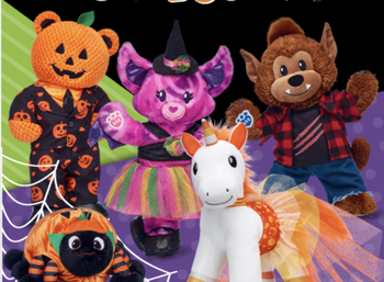 Build A Bear Christmas 2019.Build A Bear Released Their Halloween Collection And I Want