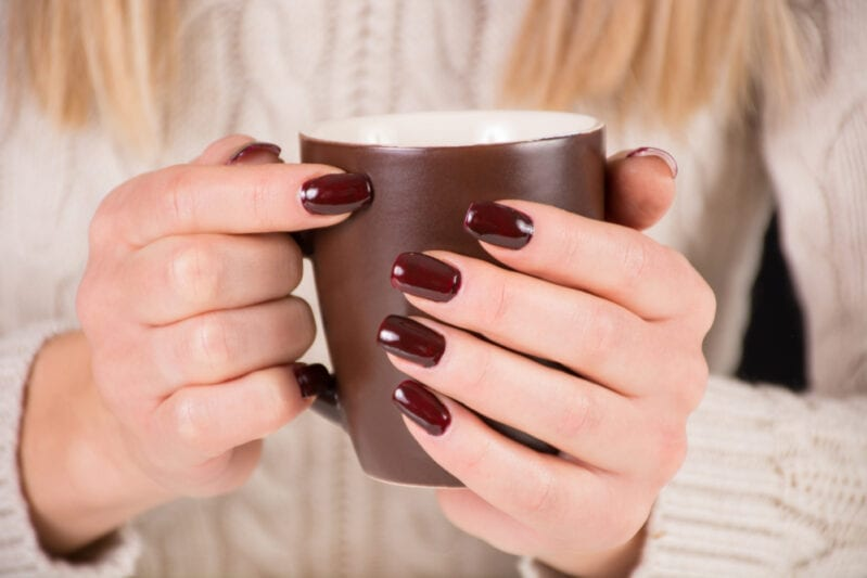 You Can Get Nail Polish That Smells Like Coffee And Changes Color Based On Your Mood