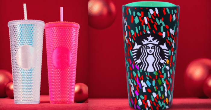 Starbucks Christmas Cups 2019.The Starbucks Holiday Cups 2019 Preview Is Here And I Need
