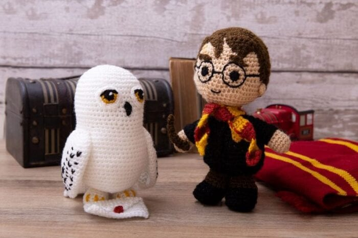 Harry Potter Amigurumi Crochet Pattern | Etsy | 466x700