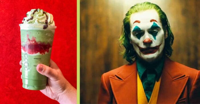 We created this special Joker Frappuccino to celebrate the new Joker movie release