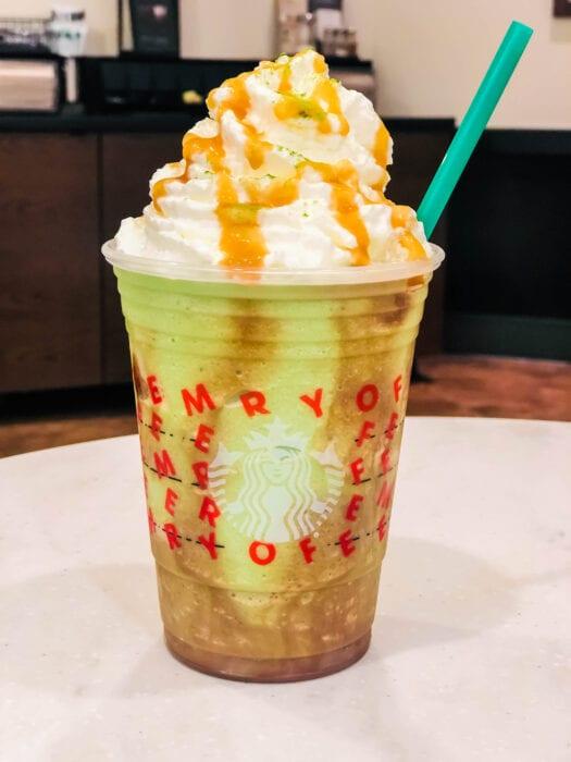 We created a Starbucks secret menu drink called the Mandalorian Frappuccino