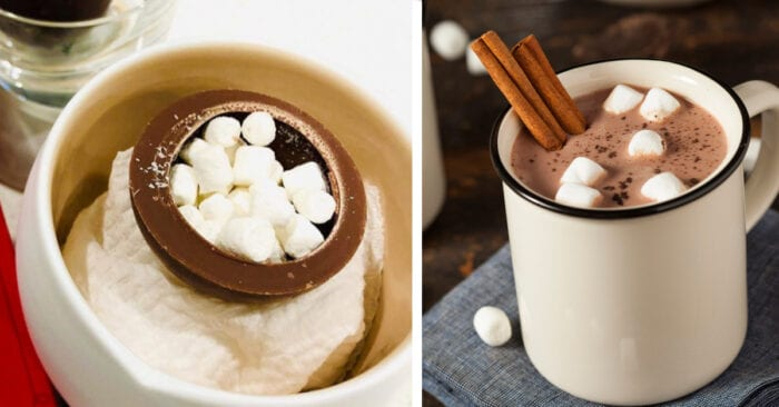 Target Is Selling Hot Chocolate Bombs That Melt In Your Milk
