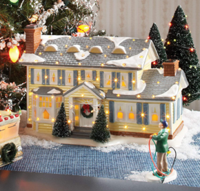 This National Lampoon Christmas Vacation Village is the perfect Christmas decoration