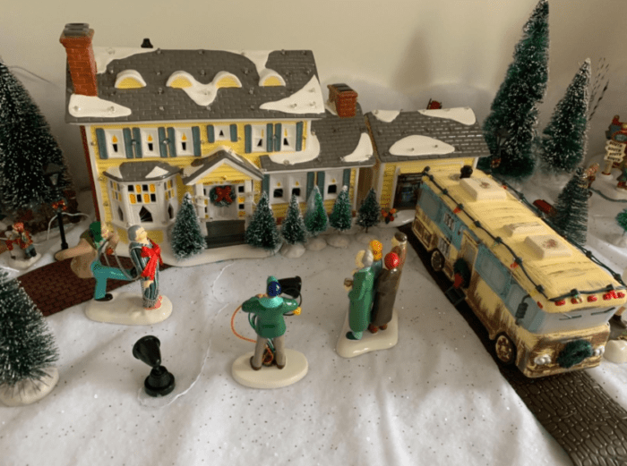 This National Lampoon Christmas Vacation Village from Amazon is the only Christmas decoration you need