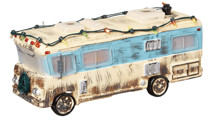 the National Lampoon Christmas Vacation Village from Amazon even includes a littel RV