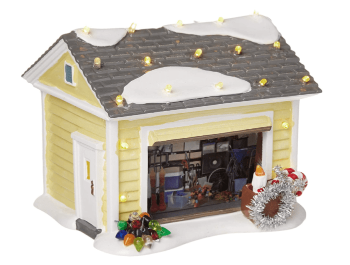 Every piece of the National Lampoon Christmas Vacation Village collection is just like the movie