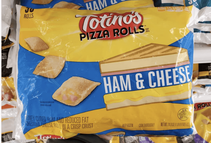 Totinos Pizza Rolls Now Come In Ham And Cheese Flavor So
