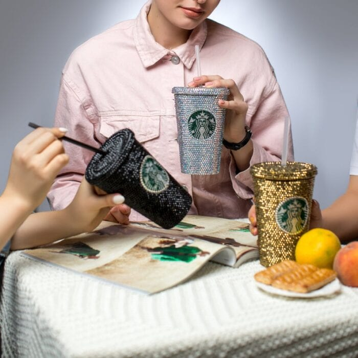 Get Swarovski Starbucks Cup  PNG
