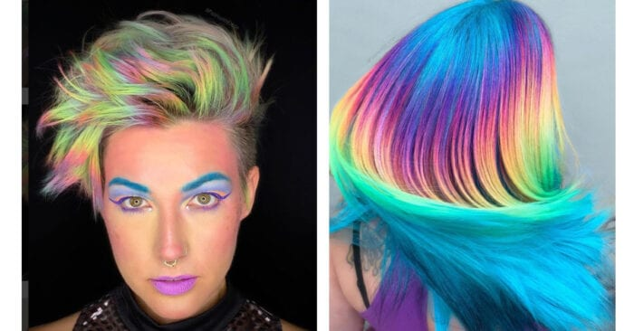 Holographic Hair Is The New Trend And I Love It