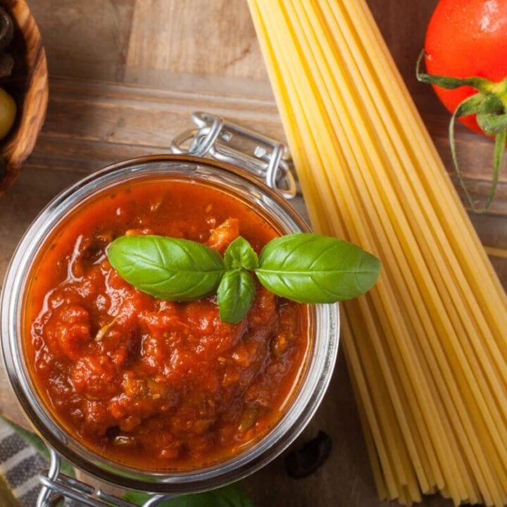 Cheater's Spaghetti Sauce