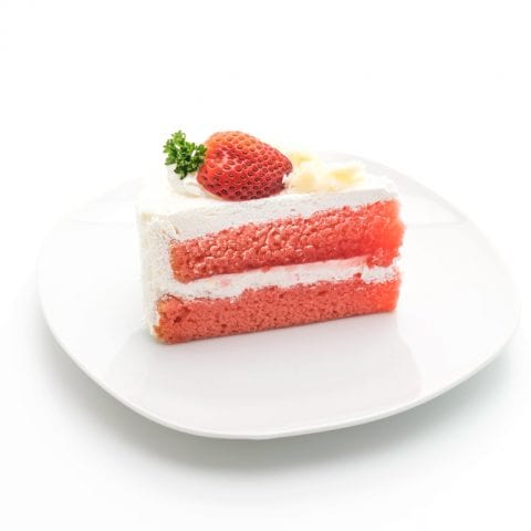 Strawberry Crazy Cake