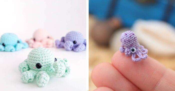 23 Free Crochet Patterns: Sea Creatures – Picot Pals   366x700