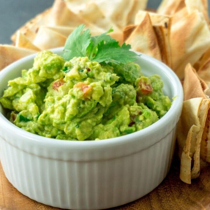 3-Ingredient Guacamole