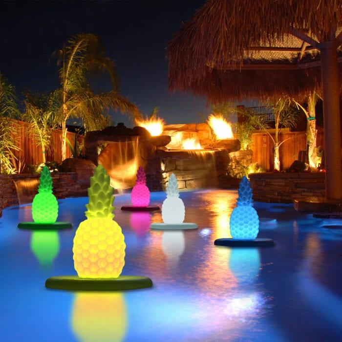 Pineapple Floating Lights