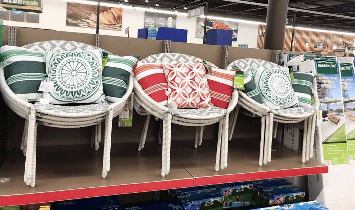 Aldi Is Selling 40 Diamond Weave Wicker Chairs To Take Your Outdoor Dining To The Next Level