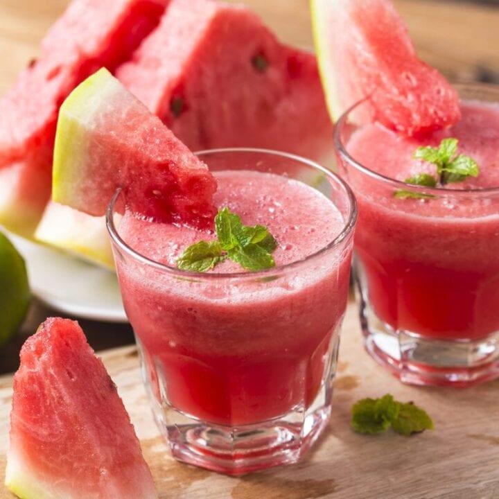 4-Ingredient Watermelon Slushie