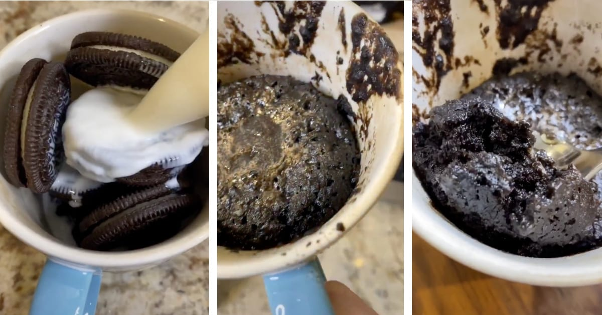 This Tiktok Video Shows You How To Make An Oreo Cookie Mug Cake And I M Making One Now
