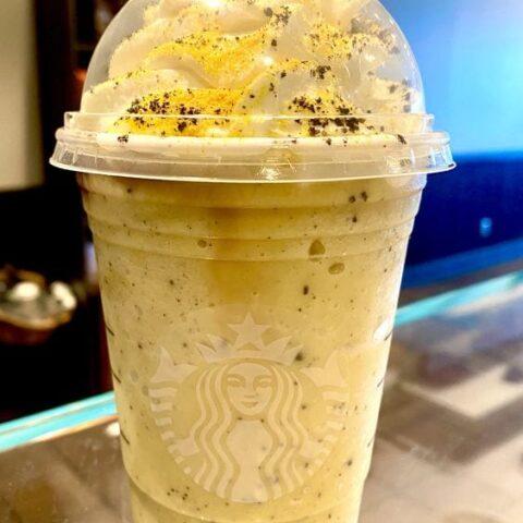 Starbucks Hufflepuff Frappuccino