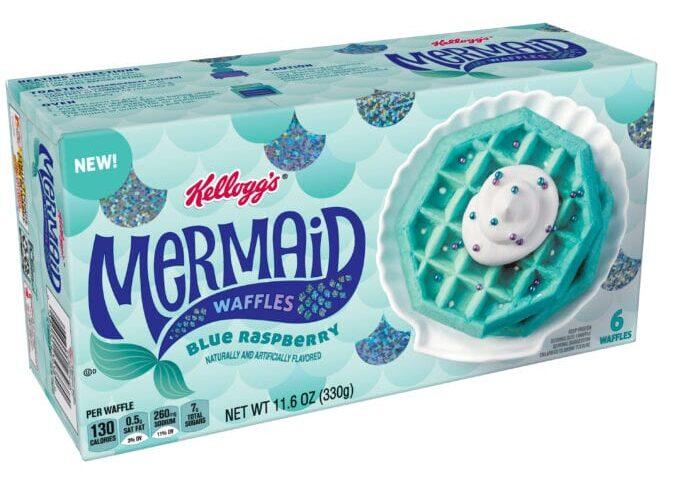 Kellogg S Released Unicorn And Mermaid Waffles That Taste