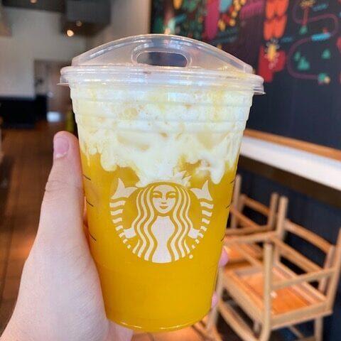 Starbucks Pineapple Bliss Drink