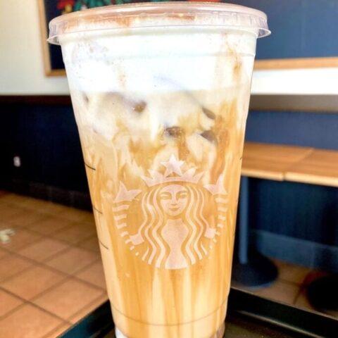 Starbucks Salted Caramel White Mocha Cold Brew
