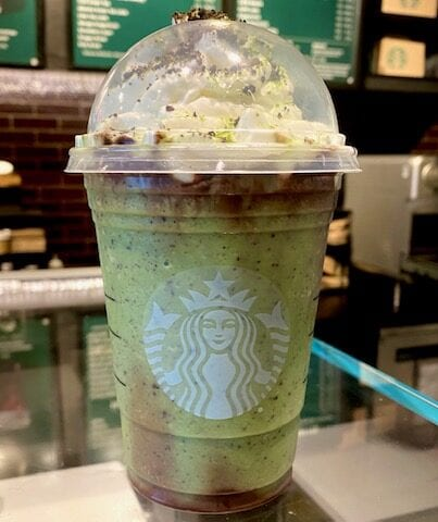 Starbucks Slytherin Frappuccino