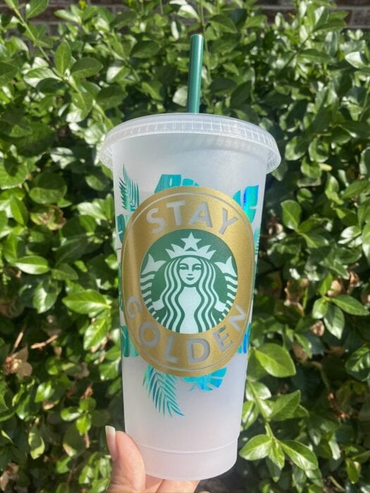 You Can Get a Golden Girls Starbucks Cup That Reminds You To Stay Golden