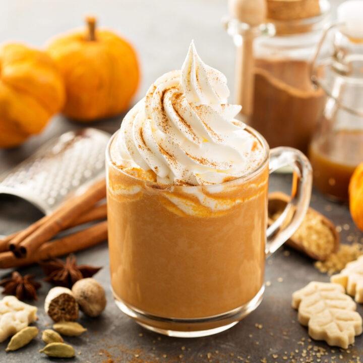 Starbucks Pumpkin Spice Whipped Cream