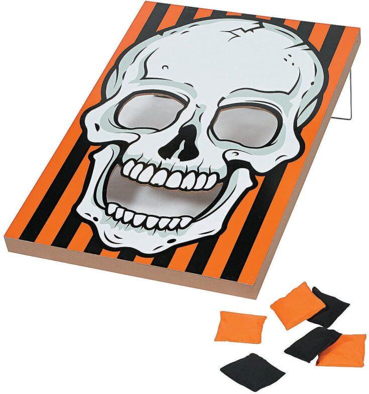 Skull Bean Bag Toss