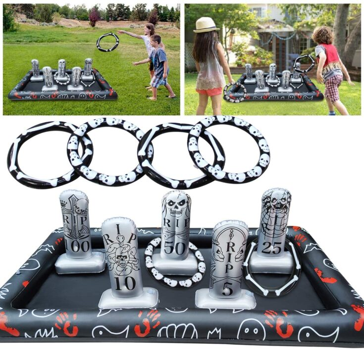 Tombstone Ring Toss Game