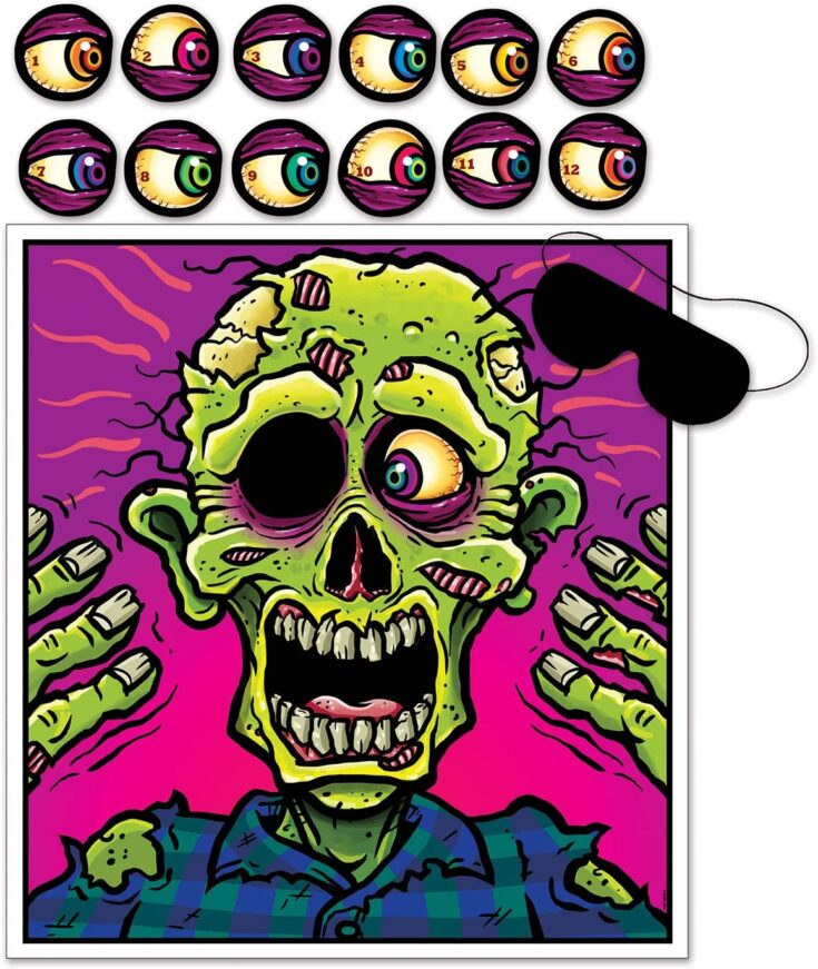 Pin The Eyeball On The Zombie
