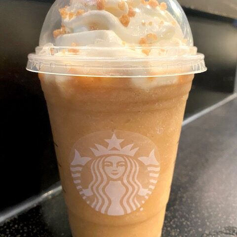 Starbucks Butter Pecan Frappuccino