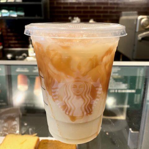 Starbucks Caramel Apple Refresher