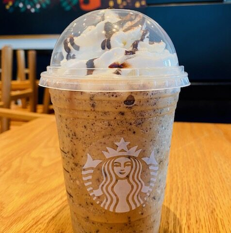 Jack-O-Lantern Frappuccino