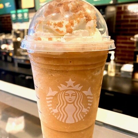 Starbucks Trick r' Treat Sam Frappuccino