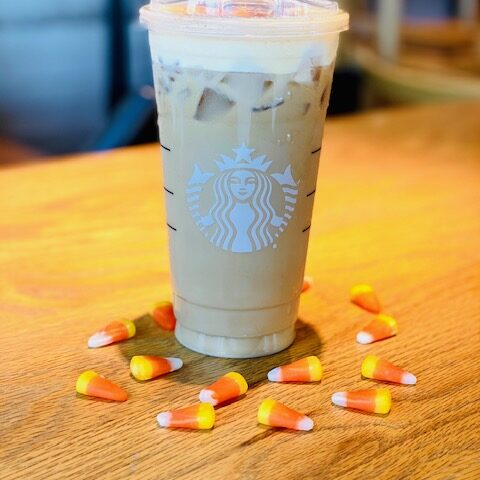 Candy Corn Cold Brew
