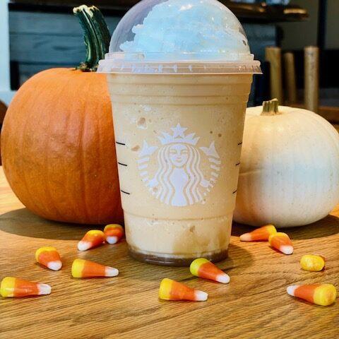 Candy Corn Frappuccino