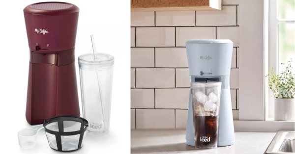 Mr Coffee Is Selling An Iced Coffee Maker Complete With A Tumbler And I Want It Now