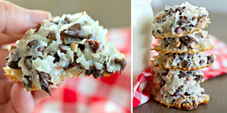 4-ingredient Almond Joy Cookies