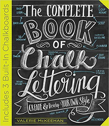 Complete Book Of Chalk Lettering
