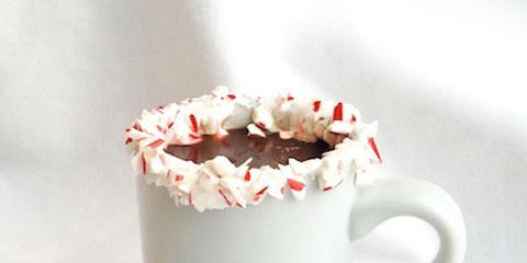 Crushed Peppermint on the Rim