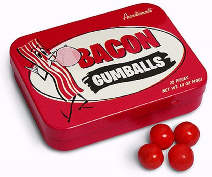 Bacon Flavored Gum