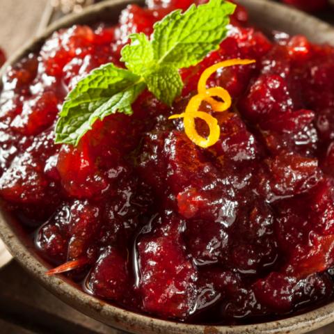 Fresh Cranberry Sauce