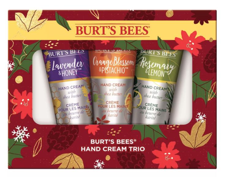 Burt's Bees Hand Cream Trio Set