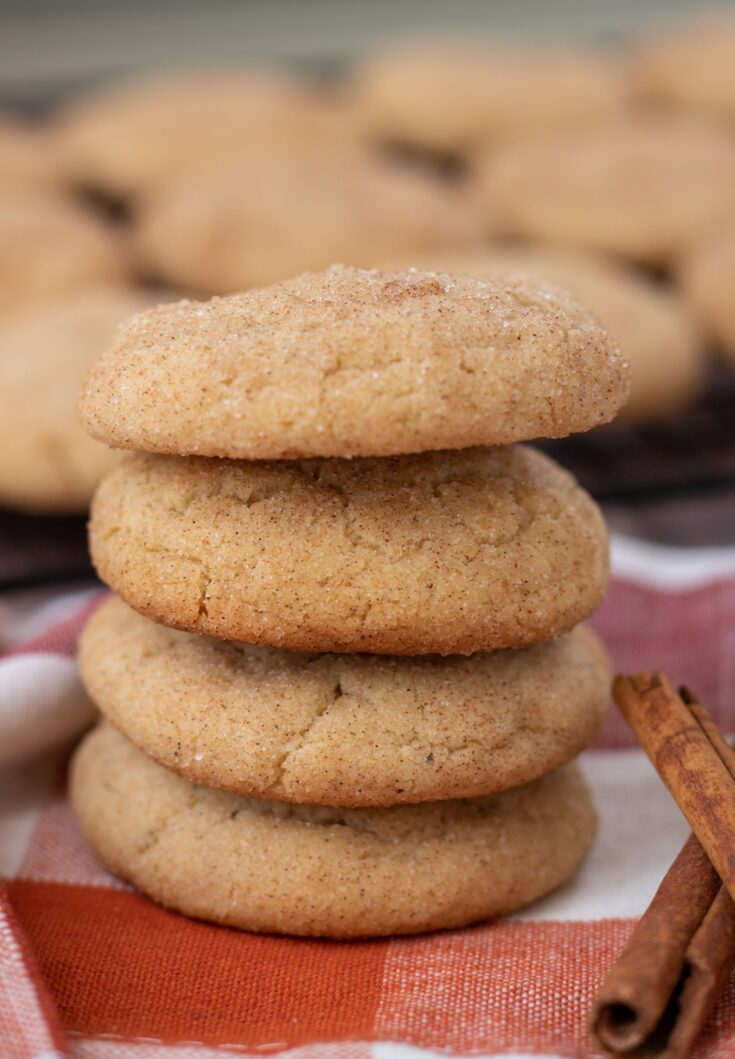 Chai Spice Brown Butter Snickerdoodles