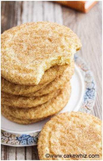 Classic Snickerdoodles Cookies