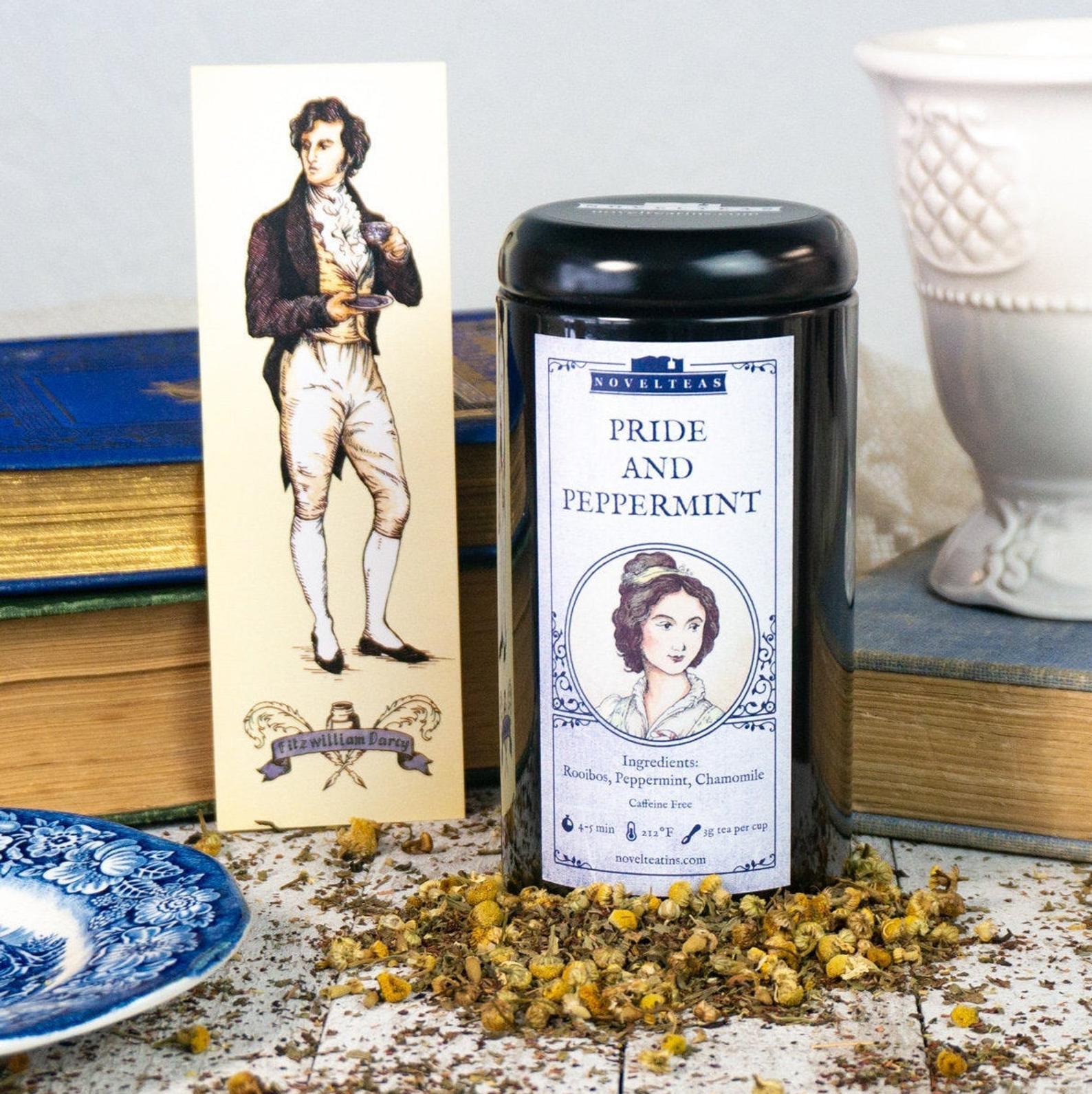 Pride And Prejudice Tea Gift Tin