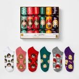 Harry Potter & Friend 6pk Socks